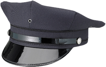 Alboum Navy 8 Point Caps - KransonUniform.com