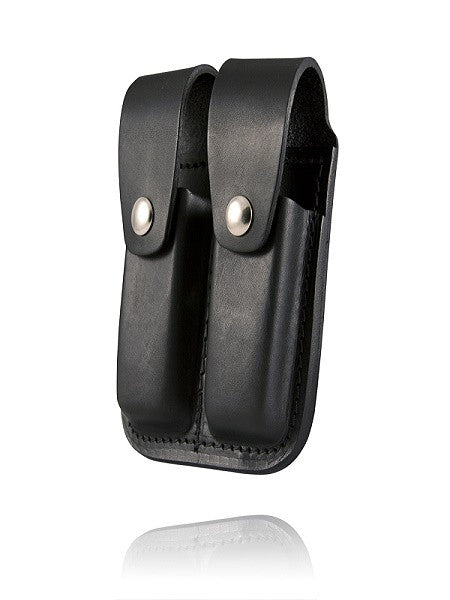 Boston Leather Double Mag Pouch (45 Cal)