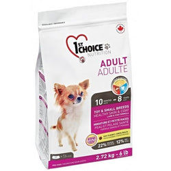 1ST CHOICE Adult Toy & Small Breed Healthy Skin & Coat