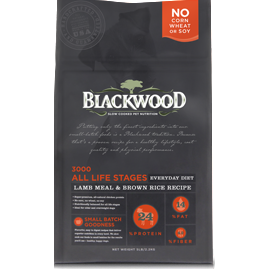 BLACKWOOD 3000 Lamb & Rice Sensitive Formula