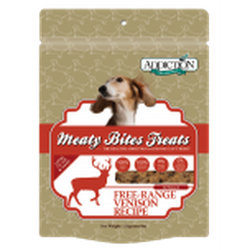 ADDICTION Grain-Free Dog Treats Meaty Bites Venison
