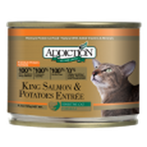 ADDICTION Canned Cat Food King Salmon & Potatoes Entrée (Grain Free)