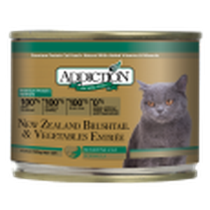 ADDICTION Canned Cat Food New Zealand Brushtail & Vegetables Entrée (Grain Free)