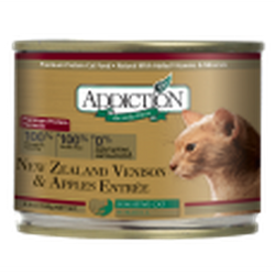 Addiction Canned Cat Food New Zealand Venison & Apple Entrées (Grain Free)