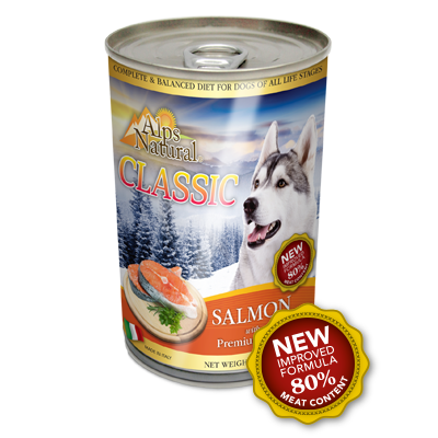 ALPS NATURAL Classic Canned Salmon with Premium Meat