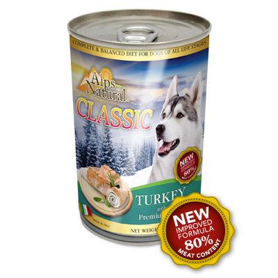ALPS NATURAL Classic Canned Turkey with Premium Meat