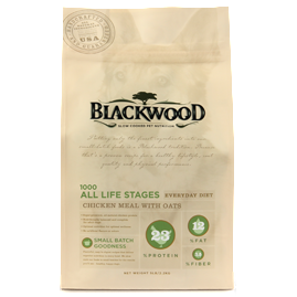 BLACKWOOD 1000 Original Formula Everyday Diet Chicken Meal with Oats Recipe