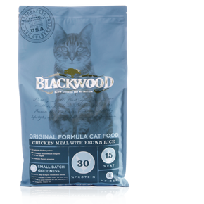 BLACKWOOD Adult Original Cat Food Chicken Meal & Brown Rice Recipe