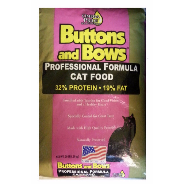 BUTTONS & BOWS Professional Adult Cat (32/19)