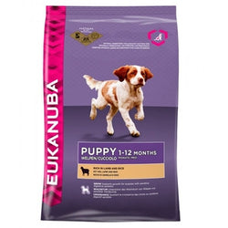 EUKANUBA Natural Lamb & Rice Puppy (Small & Medium Breed)