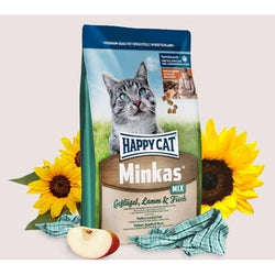 HAPPY CAT Medium Minkas Mix Lamb