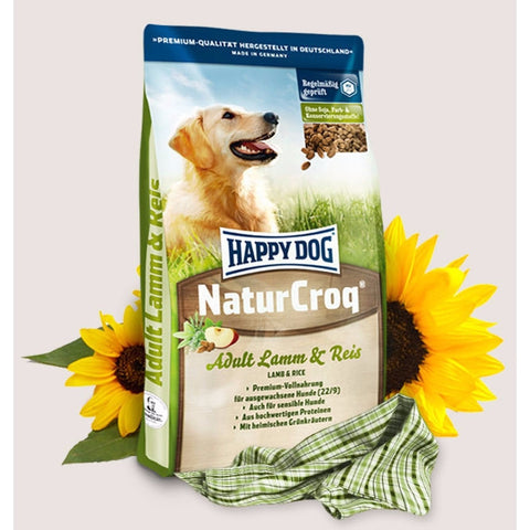 HAPPY DOG Naturcroq Adult Lamb & Rice