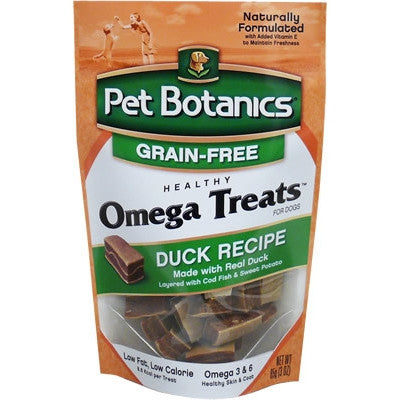 PET BOTANICS Healthy Omega Treat Duck