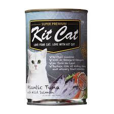 KIT CAT Super Premium Atlantic Tuna with Wild Salmon Canned Food