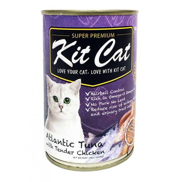 KIT CAT Super Premium Atlantic Tuna with Tender Chicken Canned Food
