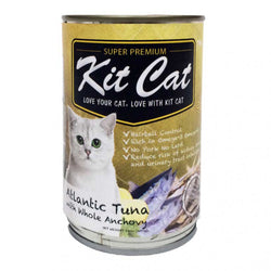 KIT CAT Super Premium Atlantic Tuna with Whole Anchovies Canned Food