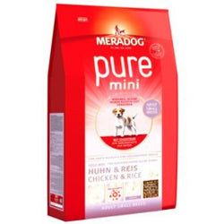 MERADOG Pure Mini Chicken & Rice (Huhn)