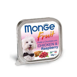 MONGE Fruit Chicken & Raspberry