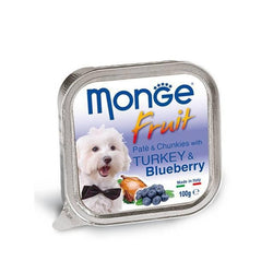 MONGE Fruit Turkey & Blueberry