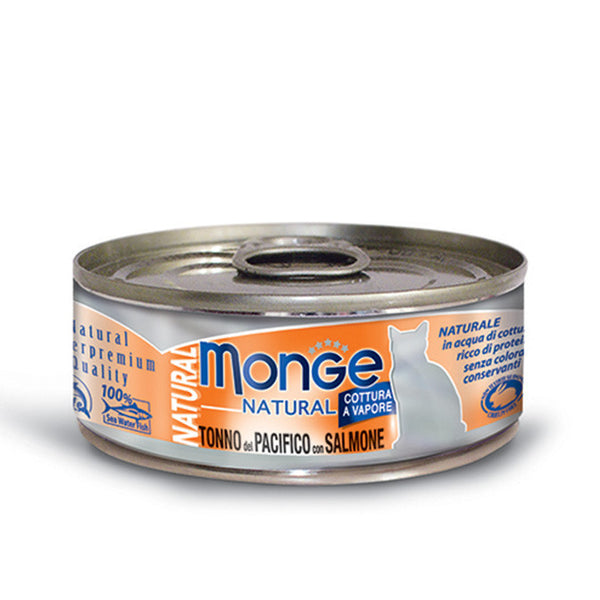 MONGE Natural Yellowfin Tuna With Salmon