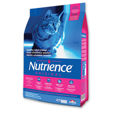 Nutrience Cat Original - Healthy Adult Indoor Chicken Meal with Brown Rice Recipe