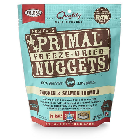 PRIMAL Freeze Dried Chicken & Salmon Formula