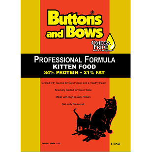 BUTTONS & BOWS Professional Kitten (34/20)