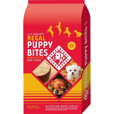 REGAL Puppy Bites Holistic Dog Food
