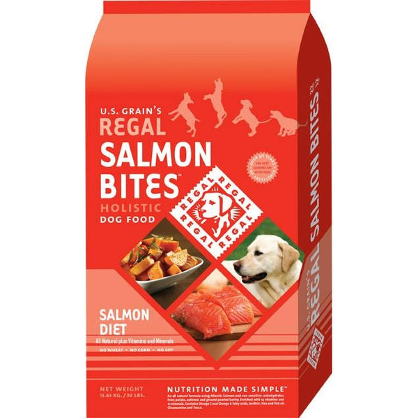 REGAL Salmon Bites Holistic Dog Food (Salmon Diet)