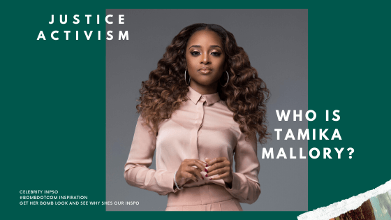 Bomb Black Women: Who is Tamika Mallory? Hair, Style and Influence! | BombDotComHair