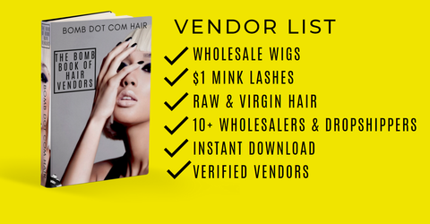 good vendors for hair