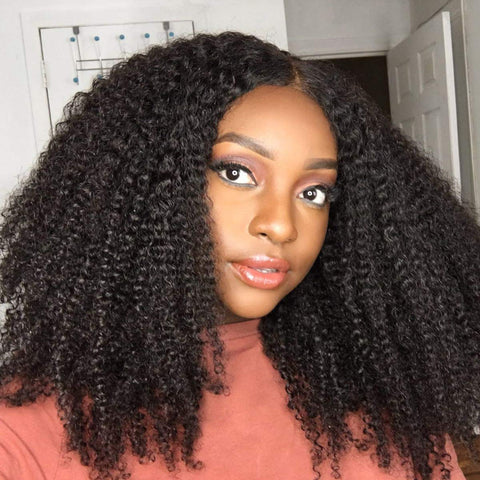 Kinky Curly Hair for graduation