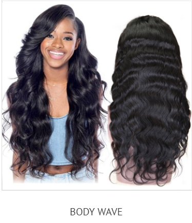 full lace, 360, lace frontal body wave human hair wig