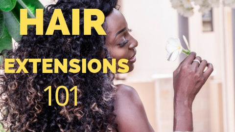 Hair extensions 101 the ultimate guide to hair extensions and everything you need to know abour bundles weaves wigs and hair extensions