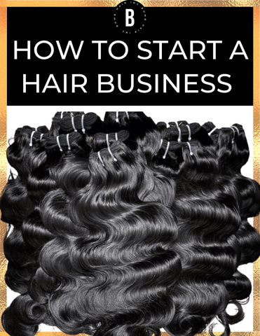 free how to start a hair business guide