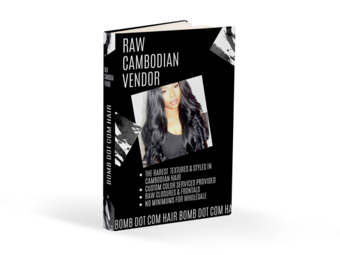 Best Raw Cambodian vendor for hair business