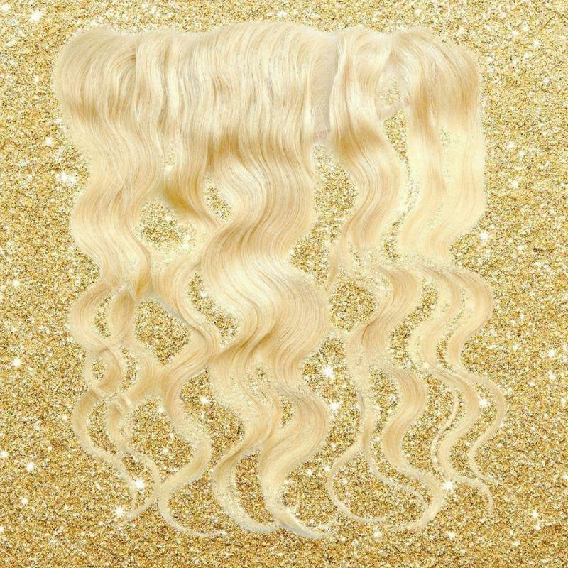 Bomb Blonde Body Wave Frontal - BombDotComHair