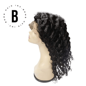 Open image in slideshow, Bomb Deep Wave Lace Front Wig - BombDotComHair