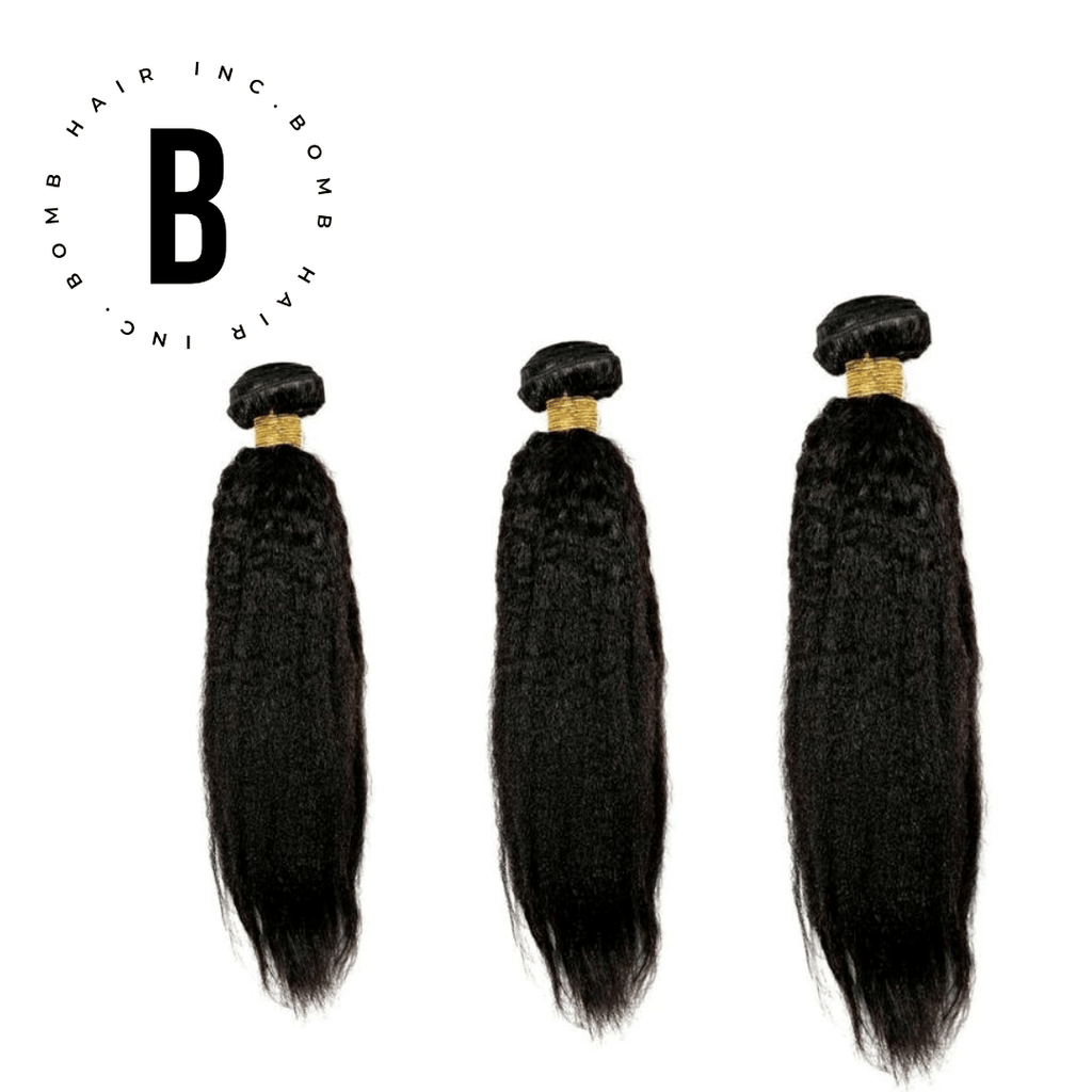 Bomb Kinky Straight Bundle Deals - BombDotComHair
