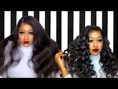 how to wear custom lace wigs