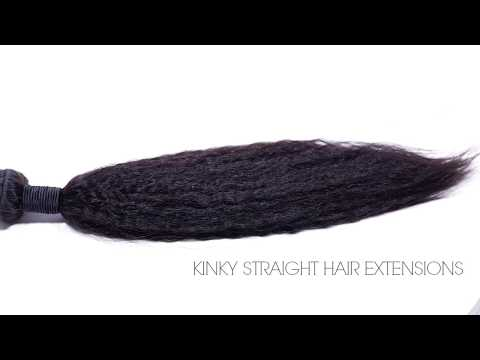 Bomb Kinky Straight Hair