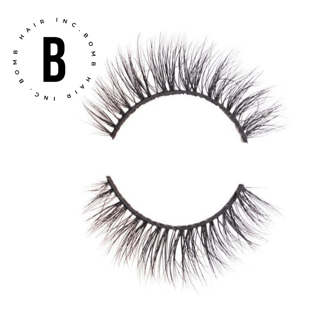 """My Lilly Bomb"" 3D Mink Lashes - BombDotComHair"