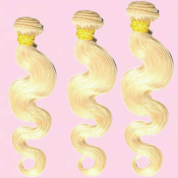 Bomb Russian Blonde Body Wave Bundle Deals - BombDotComHair