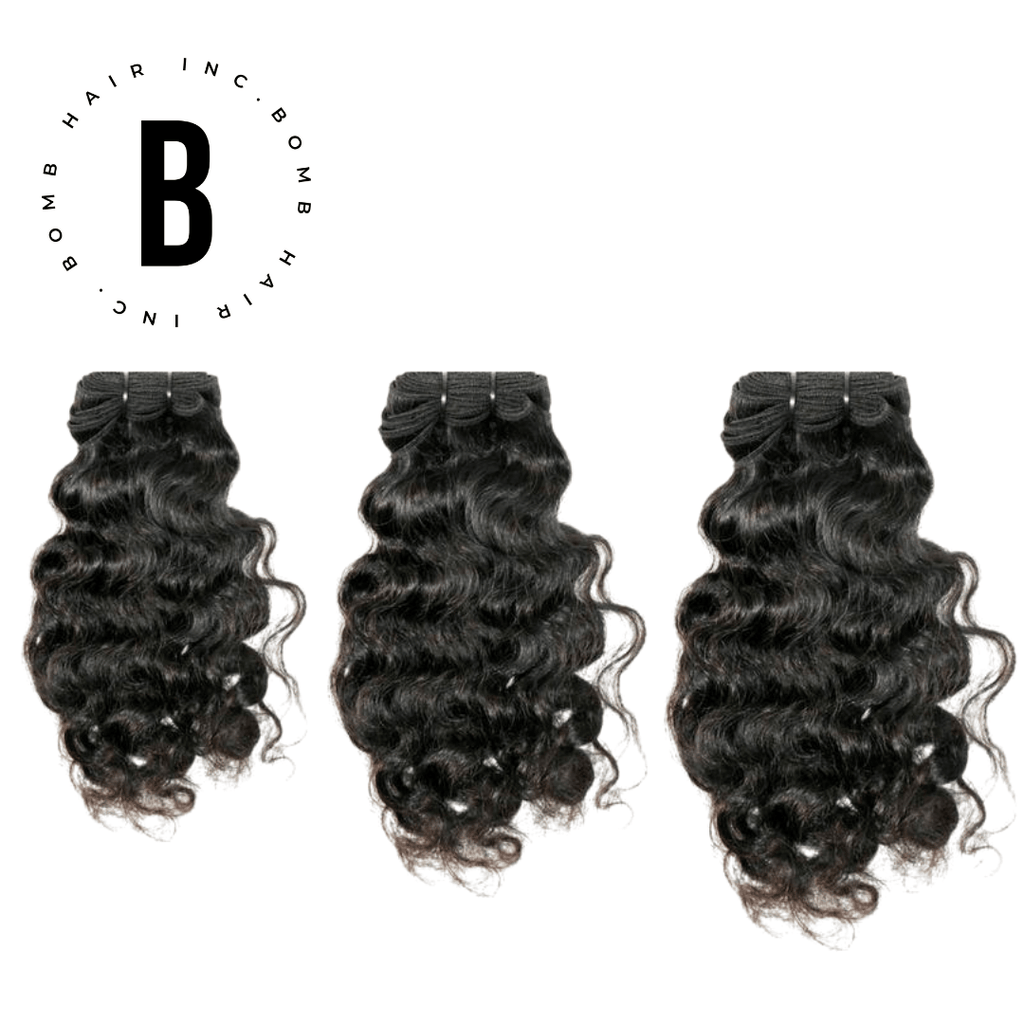 Raw Curly Indian Hair Bundle Deal - BombDotComHair