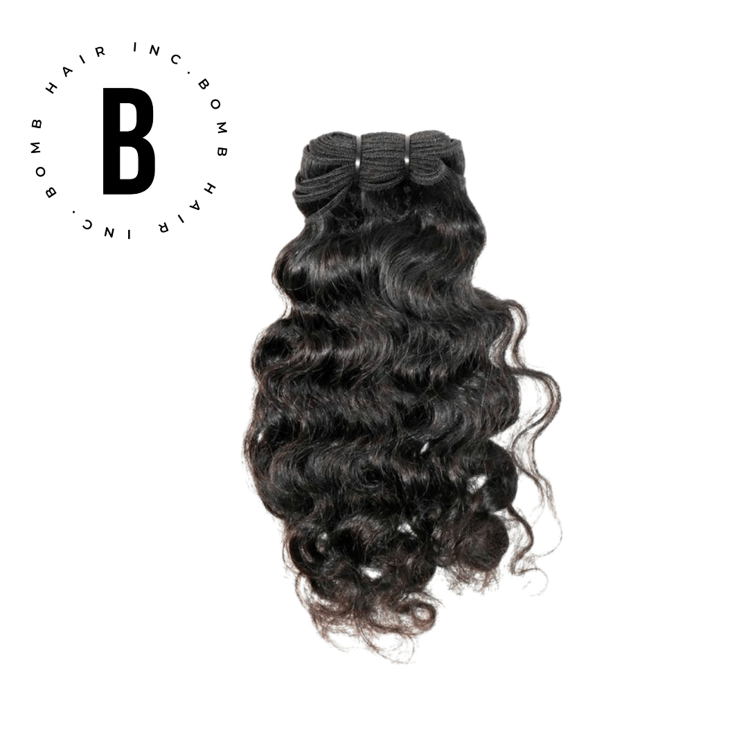 Raw Indian Curly Hair Extensions - BombDotComHair