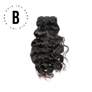 Open image in slideshow, Raw Indian Curly Hair Extensions - BombDotComHair