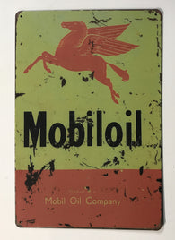 Mobil Oil reproduction distressed sign 8