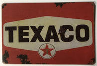 Texaco reproduction distressed sign 8