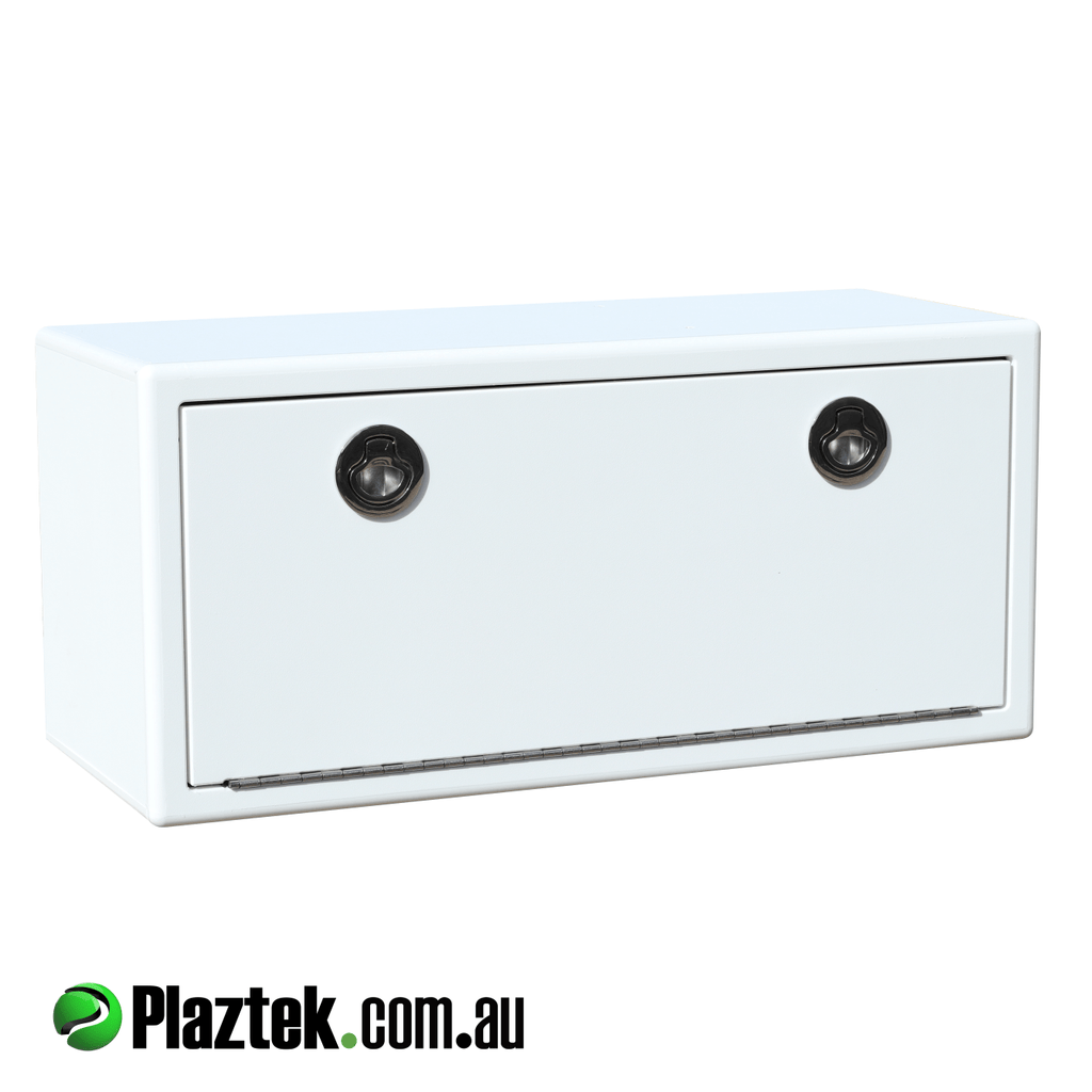 Plaztek fishing tackle cabinet, made to store plano tackle trays in the 3700 series range