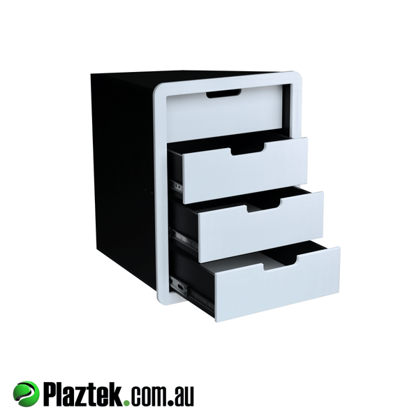 Boat Tackle Storage Cabinet has S/S Ball Bearing drawer runners. Made in Australia